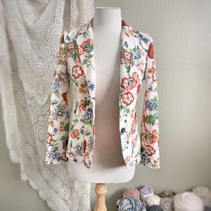 ZARA | Stunning Floral Blazer Jacket